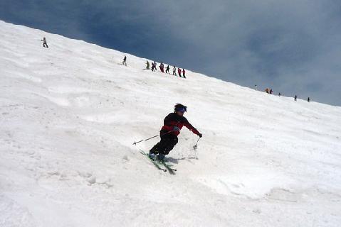 まだまだスキーモード!