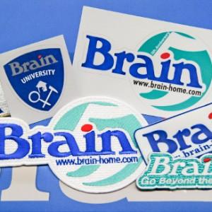 Brainワッペン・ステッカー