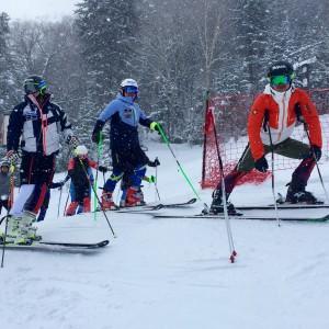 阿寒湖スキー場で修行中その2