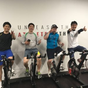 岡本選手トレーニング開始!