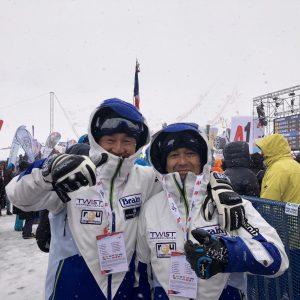 人生初の海外スキー