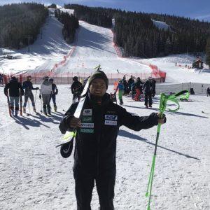 スキーに行きたい!