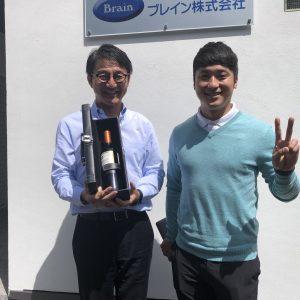 武田竜選手優勝